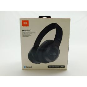 JBL - E65BTNC Wireless Noise-Cancelling Over-the-Ear Headphones - Matte Black