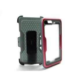 i-Blason Magma Full Body Bumper Case Cover w/Screen for iPhone 8 Plus Rose Gold