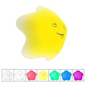 Kllarmant Night Light for Kids, USB Rechargeable Soft Silicone Nursery Lamp