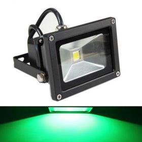 GLW 10w 12V AC/DC Waterproof Led Green Flood Light, Outdoor Spotlight