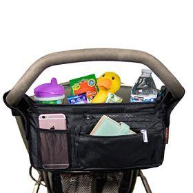 Valco Baby Stroller Caddy Organizer, Black, Universal