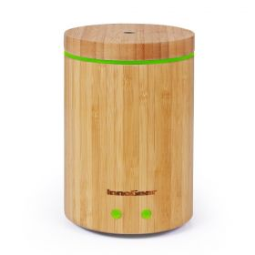 InnoGear Upgraded Real Bamboo Essential Oil Diffuser Ultrasonic