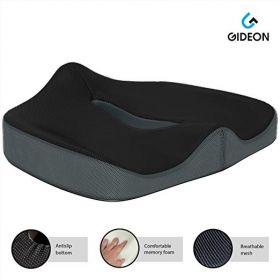 Gideon premium orthopedic cushion for office chair, car, wheelchairs, van, etc.