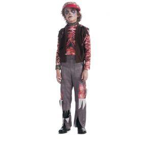 ROCKER BOY ZOMBIE COSTUME CHILDREN SIZE LARGE (12-14)