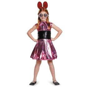 Blossom Deluxe Powerpuff Girls Cartoon Network Costume, X-Large/14-16