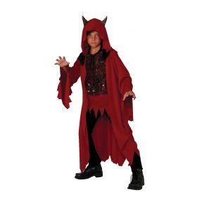 Rubie's Glowing Devil Deluxe size S 4/6 Red Costume Rubie's
