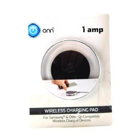 Onn 1 AMP Wireless Charging Pad for Samsung & Other Qi-Compatible Wireless