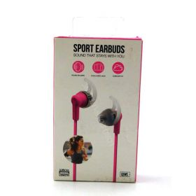 GEMS 3.5ft Sport Earbuds - Pink