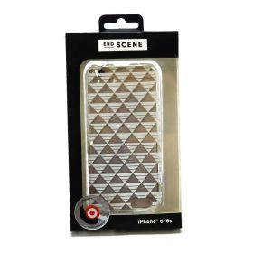 End Scene iPhone 6/6S Case (White Geo)