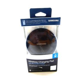 Samsung Wireless Charging Pad with 2A Wall Charger (EP-PG920IBUST3)- Black