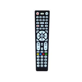 GE 37123 8-Device Big Button Universal Remote Control (Brushed Black).