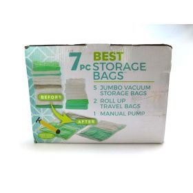 Best Storage Bags Premiere Vacuum Sealed Storage Bags - 5pc Jumbo