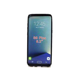 Galaxy S8 Plus Case, LK Ultra, Scratch Resistant TPU Rubber Soft - Black