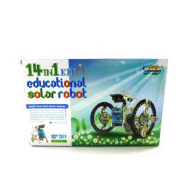 Solar Robot Science Education Assembly Kit 14-in-1