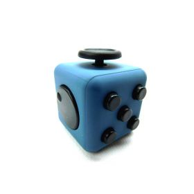BIGOCT Fidget Cube Relieves Stress & Anxiety Toy blue-black