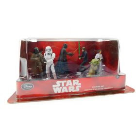 Star Wars Classic Trilogy Figurine Playset Boba Fett Original Trilogy, 6 Figures