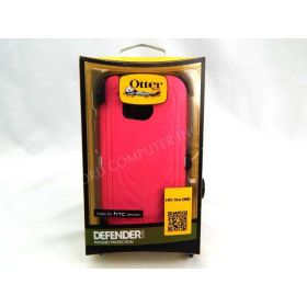 OtterBox Defender Series for The all new HTC One- Neon Rose 100% Genuine
