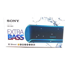 Sony SRS-XB21 Portable Wireless Bluetooth Speaker - Blue - SRSXB21/Ll