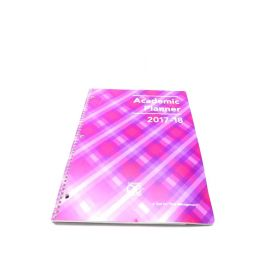 2017-2018 Academic Planner, A Tool For Time Management, Best Weekly & Monthly Student Planner - Violet Crush