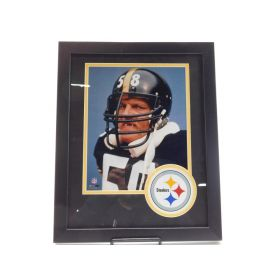 Photo File NFL Pittsburgh Steelers Team Color Mats, Black, 22.5 x 26.5-Inch