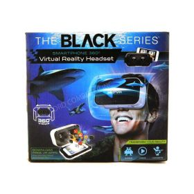 Black Series Smartphone 360 Degree Virtual Reality Headset