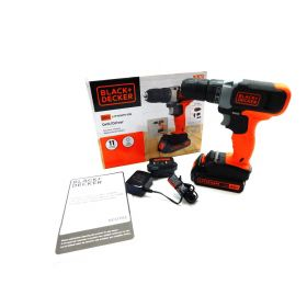 BLACK+DECKER BCD702C1 20-Volt MAX Lithium Cordless Drill