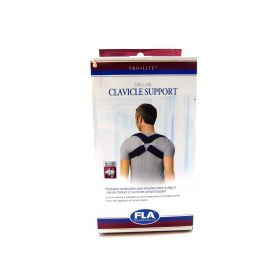 FLA Orthopedics Prolite Deluxe Clavicle Support, Navy, Small