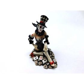eS Jester Clown Poker Face Card Dealer