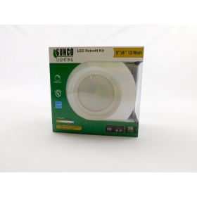 13Watt 6-inch ENERGY STAR UL-listed Dimmable LED Recessed Lighting 5000K