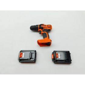 BLACK+DECKER LDX220C 20V MAX 2-Speed Cordless Drill Driver Includes  2 Batteries