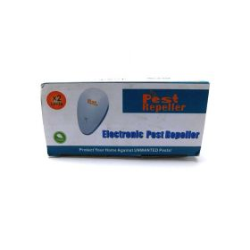 Gesentur Ultrasonic Pest Repeller - Pest Control with Enhanced Ultrasonic Frequency