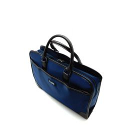 Business bag with water repellent and Plemo nylon, multiple storage compartments