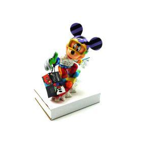 Disney Romero Britto Snowboarding Mickey Mouse Figurine 4046361