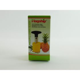 Flagship Pineapple Corer Slicer Cutter Peeler Stainless Steel