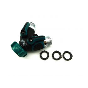 YEAHBEER Garden Hose Splitter,2 Way Hose Connector, with 3/4 Connector