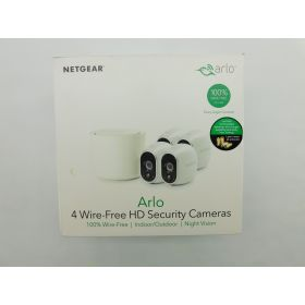 Arlo - Wireless Home Security Camera System with Motion Detection 4pk