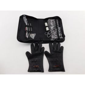 TeiKis BBQ Set 1x BBQ Gloves, 1x Bear Paws Meat Handler