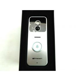 Emerson ER107001 Wifi Enabled Smart Video Doorbell with 2 Way Talk, Night Vision