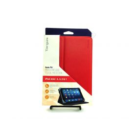 Targus Safe Fit Protective Case for iPad Mini 1/2/3/4, Red (THZ59303GL) A4