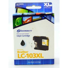 Dataproducts Remanufactured Brother LC103XL Black Ink Cartridge