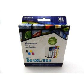 Dataproducts 564XL & 564 Remanufactured Ink Cartridges Multi Pack - Black/Cyan/Magenta/Yellow