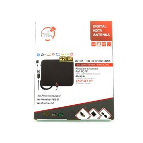 Amplified Digital HD TV Antenna 65-120 Miles Range- Powerful Amplifier 4K 1080P