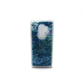 Caka Galaxy S9 Plus Case, Galaxy S9 Plus Glitter Case [Liquid Series]