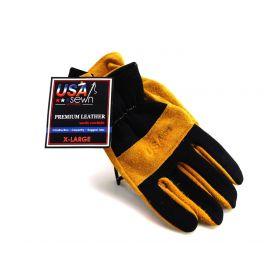 Midwest Gloves and Gear 176-M-AZ-6 Men's Premium Suede Cowhide Work Glove