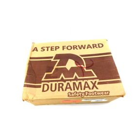 Duramax Women's Ultra Light Plastic Toe Security Shoe Size 8 - Black