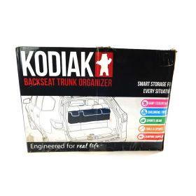 2 In 1 Backseat Car Trunk Organizer By Kodiak| 4 Pocket Car Storage Solution