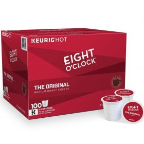 Eight O'clock The OrIginal Medium Roast Coffee 100 Count Keurig K-cup Pods