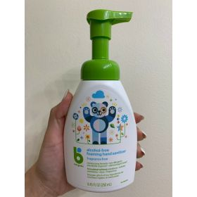 Babyganics Alcohol-Free Foaming Hand Sanitizer Pump Bottle Fragrance Free (3pk)