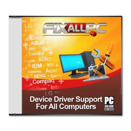 Fixallpc - Disc - Recovery/Install/Update Any Driver for HP Z600 Workstation