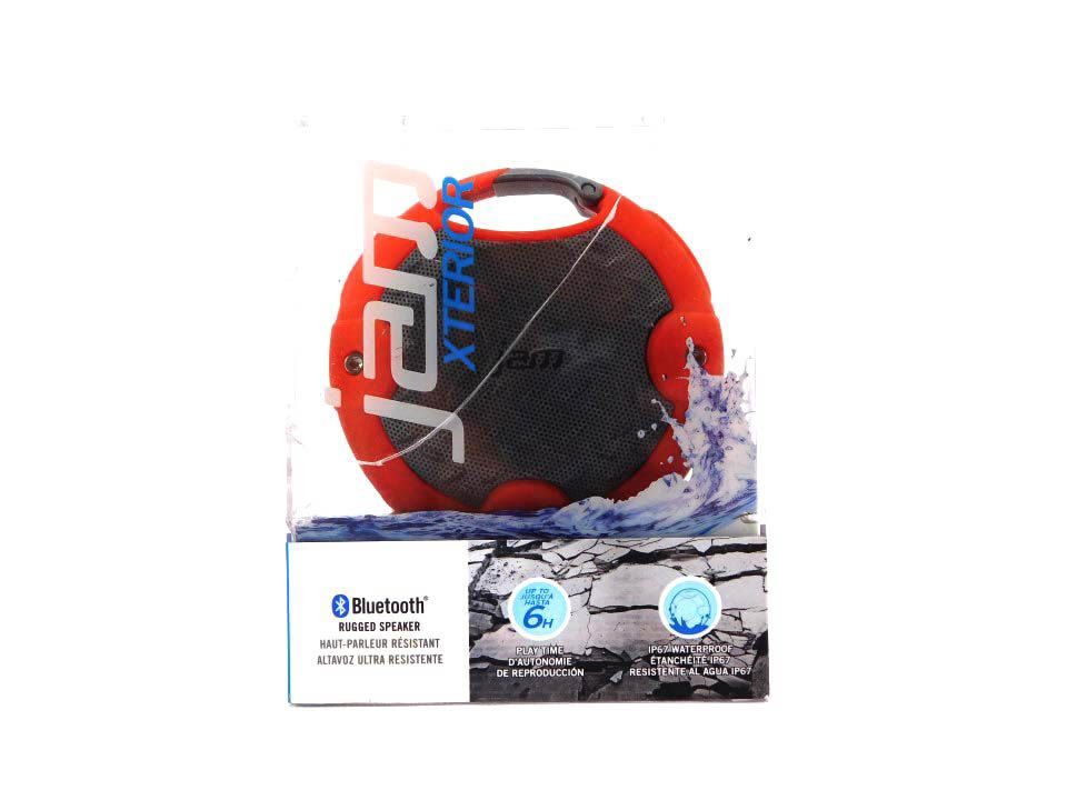 JAM HX-P480RD Xterior Rugged Wireless Speaker Waterproof, IP67 Rating (Red)